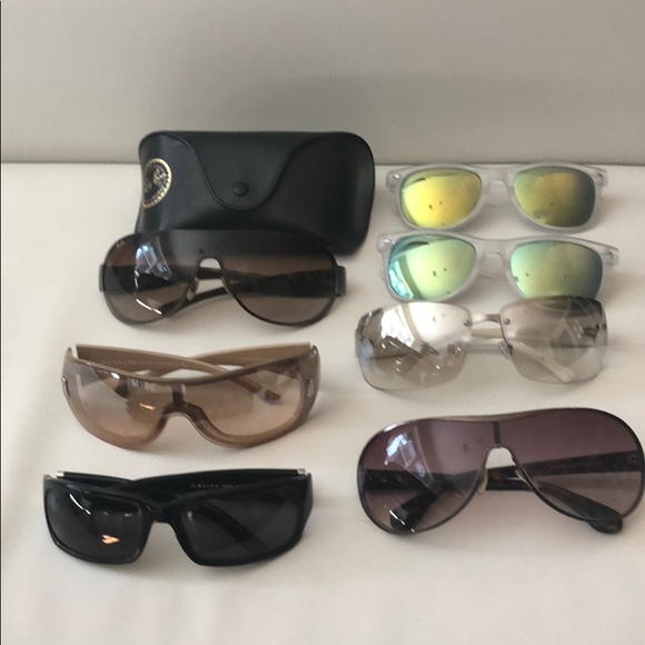f3b0df9a000d6 Ralph Lauren Accessories - 7 pairs of sunglasses. Ralph Ray Ban Chico Marc